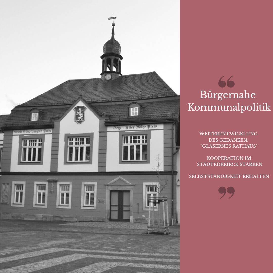 Bad Blankenburg bürgernahe Kommunalpolitik